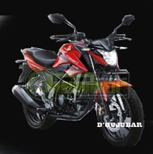 New Honda CB150 merah