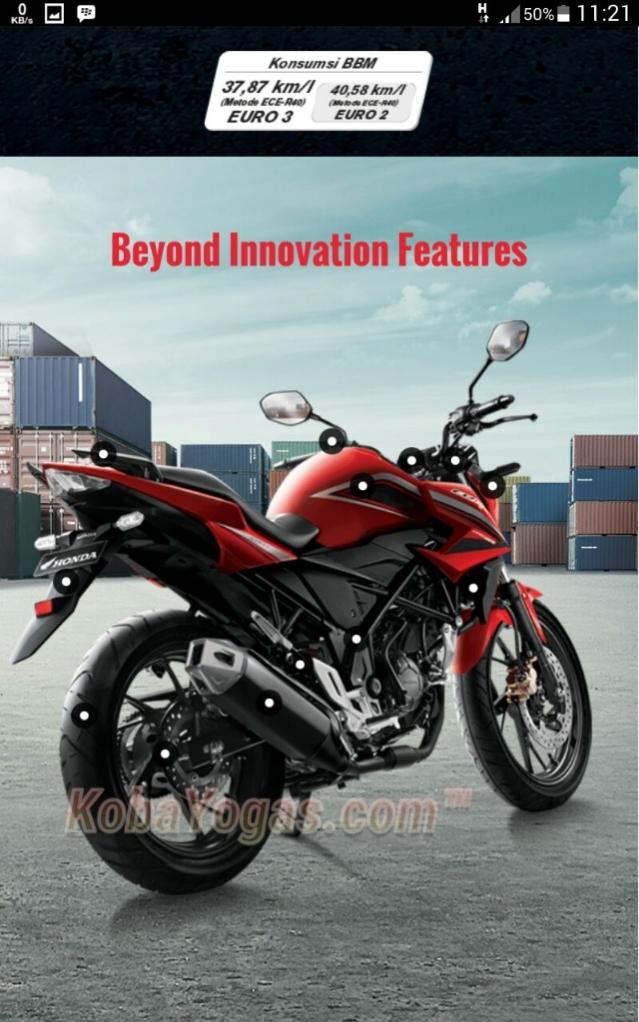 New Honda CB150R