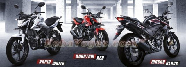 Tiga warna New Honda CB150