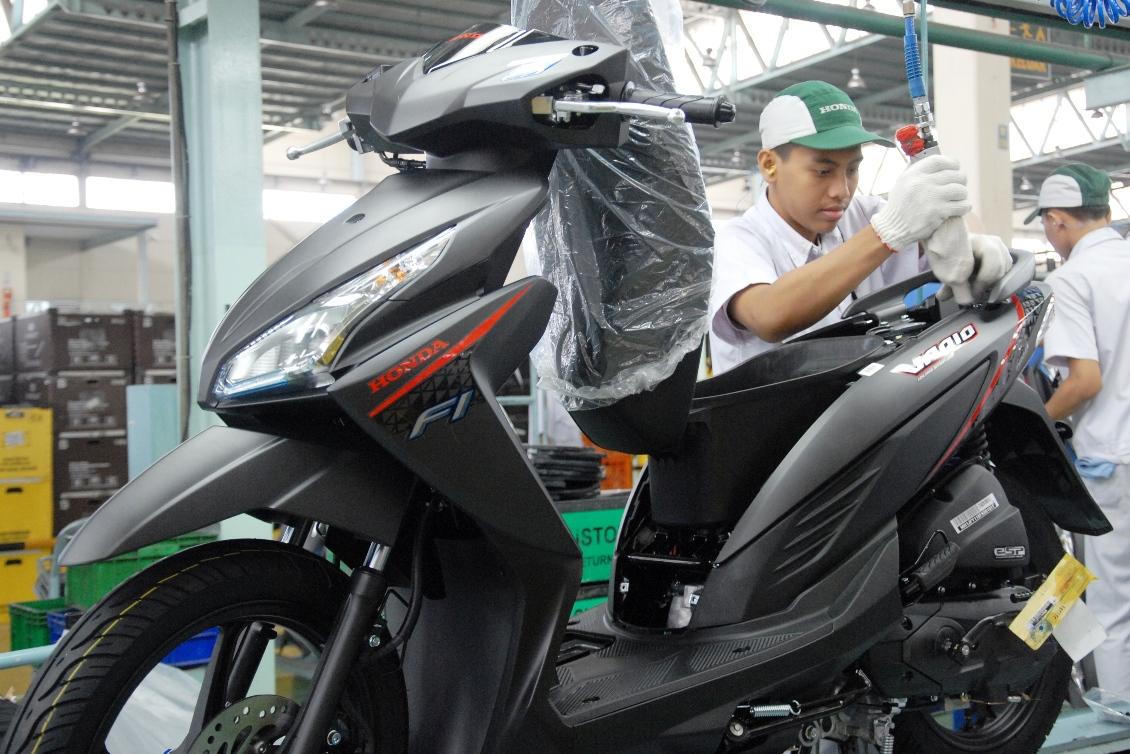 Tepati Janji Honda Rilis New Vario 110 LED Dengan ESP Dan Warna