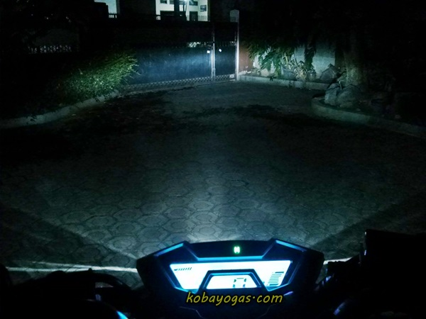 lampu dekat New CB150