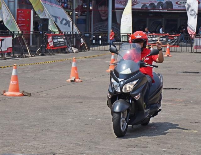 test ride Suzuki Burgman Kobayogas