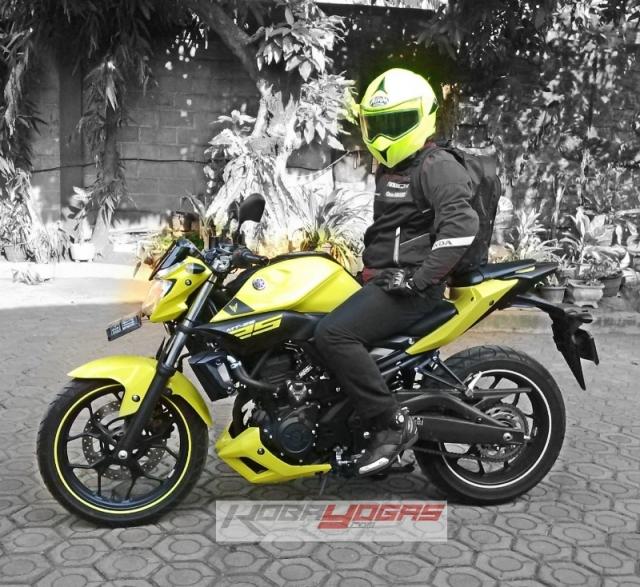 Yamaha MT25 kuning