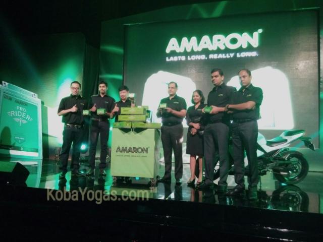Aki Amaron motor 2