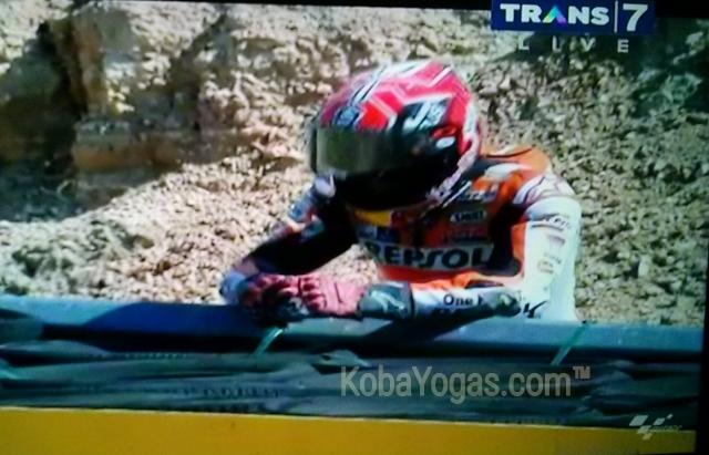 Marquez Aragon crash