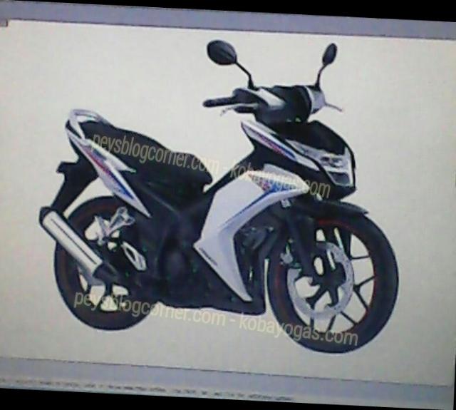 Honda Super Blade 150 sketsa