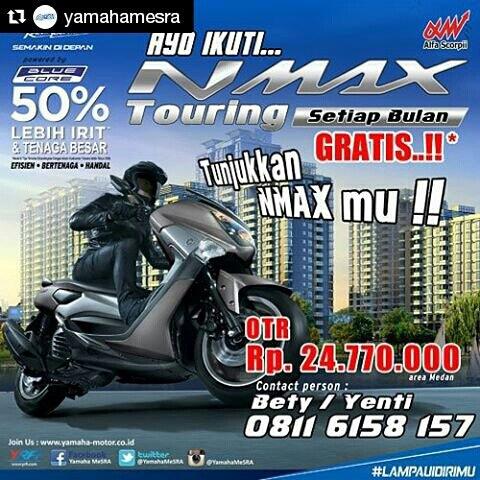 Saat Tepat Beli Yamaha Nmax Gratis Turing Tiap Bulan Loh