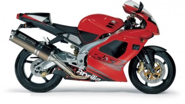 Aprilia RSV1000 Mille R Red