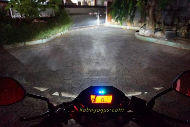 lampu Honda Sonic 150 2
