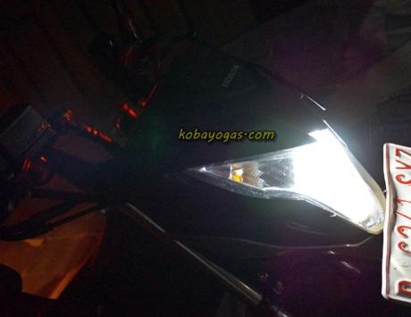 lampu Honda Sonic 150 7
