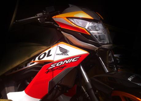 Gambar Modifikasi Sonic Repsol Hadir Di Kontes Modifikasi Honda Di Jogjakarta Sekaligus