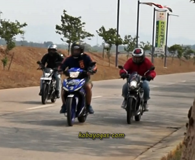 Sonic 150 vs MX King vs Satria