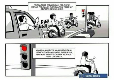 pelanggaran lalu lintas