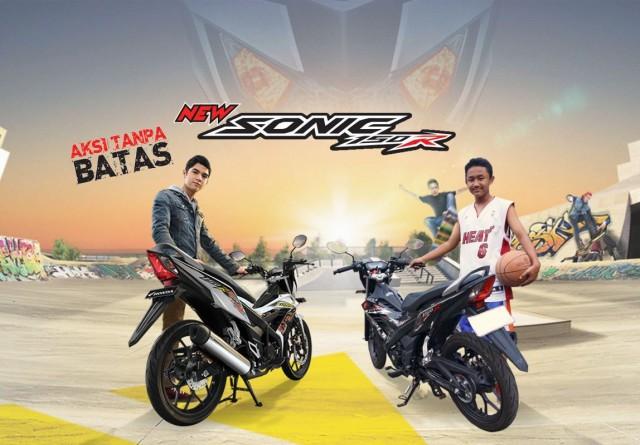 iklan baru Honda Sonic 150 2