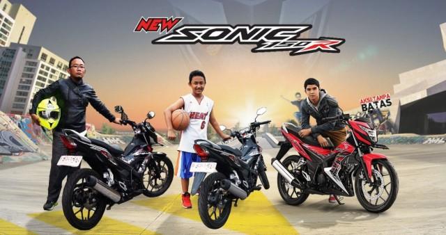 iklan baru Honda Sonic 150
