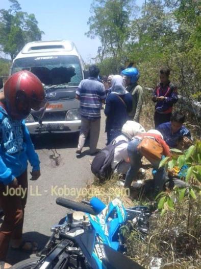 kecelakaan di tembus tawangmangu