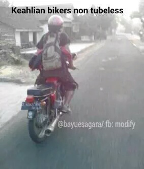 skill tube tire rider