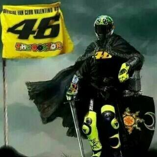 Rossi is the king