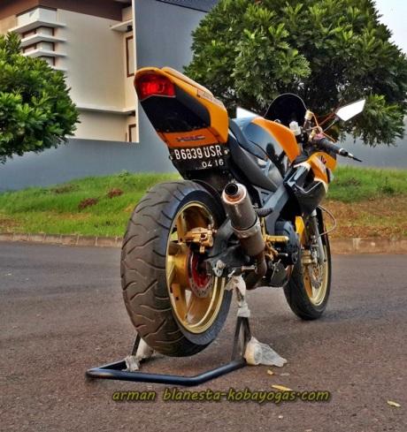 Modifikasi Minerva R150VX Bandung