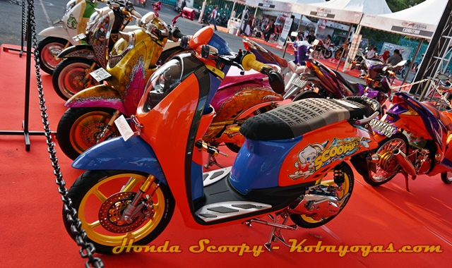 modifikasi Honda Scoopy 1