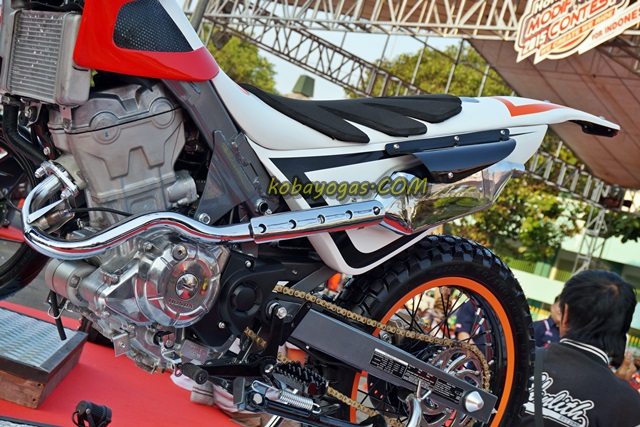 Inspirasi Modif Unik Modifikasi Honda Sonic 150 Menjadi Trial Kobayogas Com Your Automotive Blog