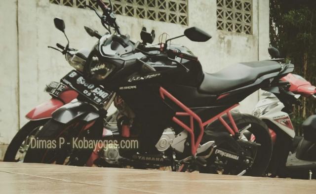 Inspirasi Modif Yamaha New Vixion Lightning Pakai Teralis Lebih