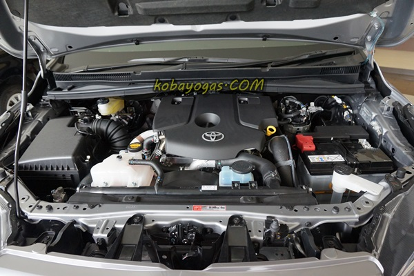 engine bay nya penuh!