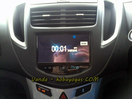 head unit chevrolet trax