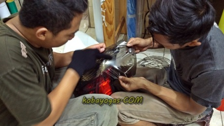 modifikasi lampu rem NMax 2
