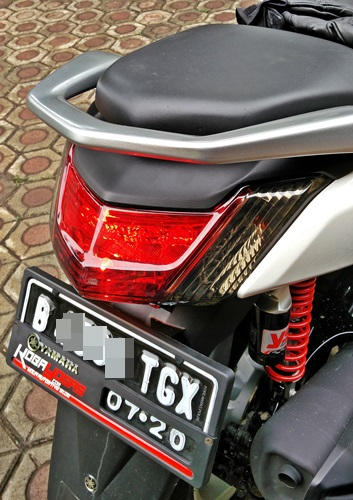 modifikasi lampu rem NMax 3