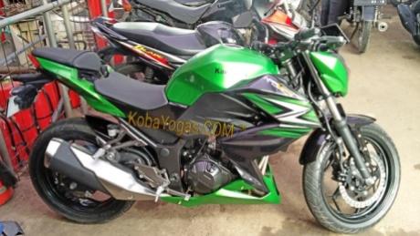 Z250FI hijau 1