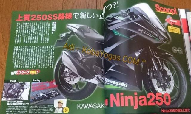 versi lain kawasaki ninja baru