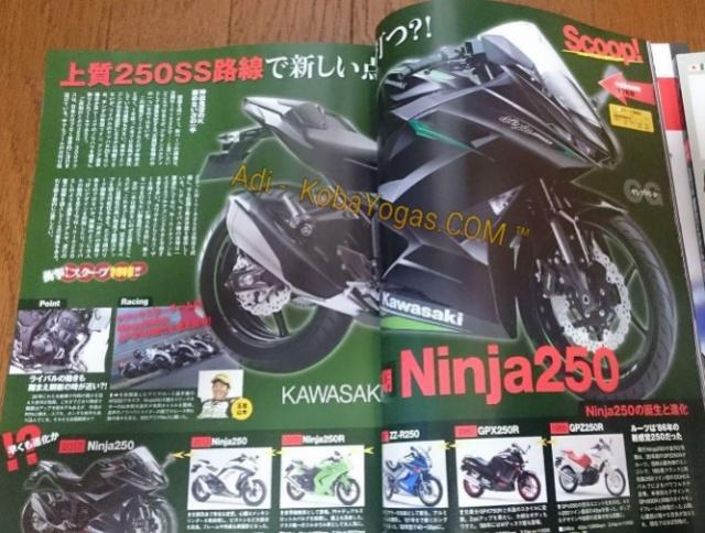 New Ninja 250 2 silinder 2016 2