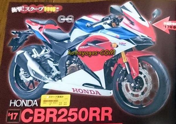 New CBR 250RR 2 silinder 2017