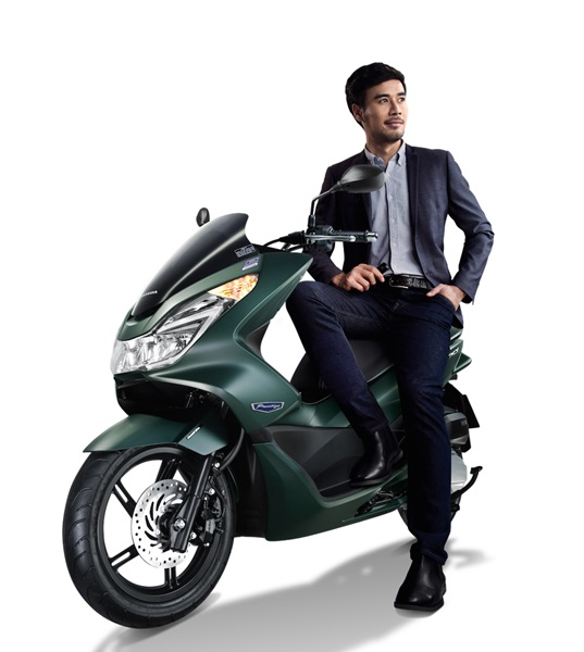 New Honda PCX 2016 warna baru hijau doff kobayogas