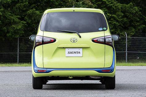 New Toyota Sienta belakang