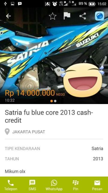 satria fu bluecore