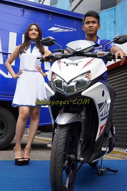 Yamaha Aerox 125 putih kobayogas