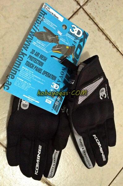 Sarung tangan Komine kobayogas 1