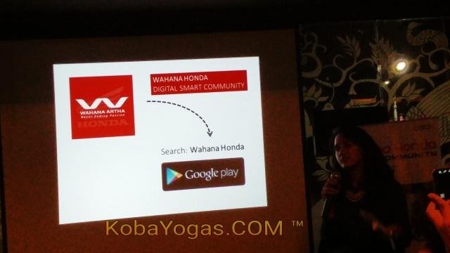 Wahana Honda Digital Smart Community