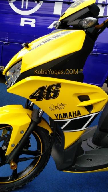 Yamaha Aerox edisi Rossi