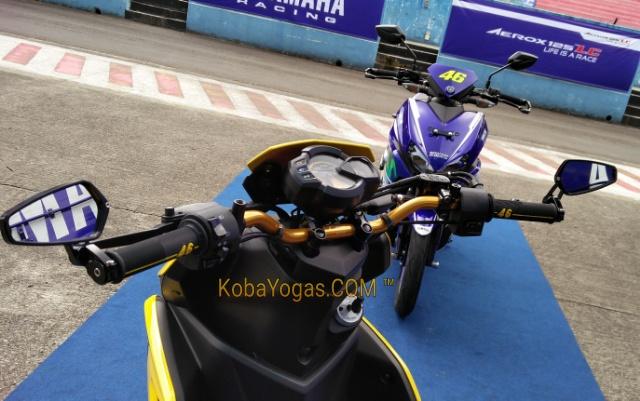 Yamaha Aerox edisi Rossi 2