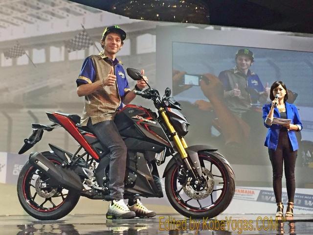 Yamaha Xabre 150 Rossi