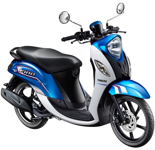 New Fino 125 Blue Core Sporty Esprit Bleu (Biru)