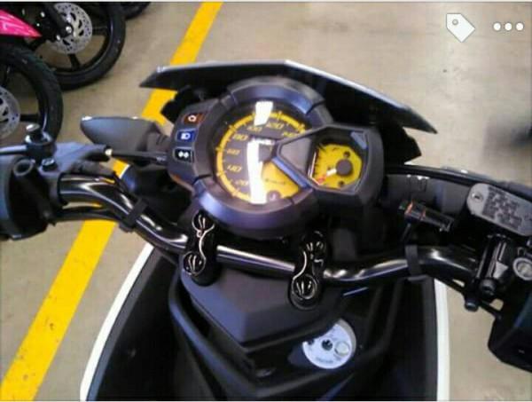 speedometer identik dengan milik X-Ride