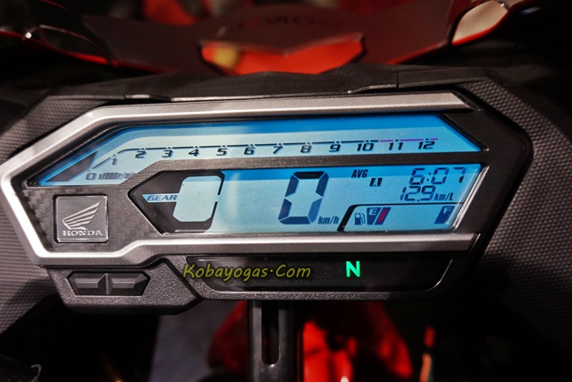 speedometer all new cbr150r 1