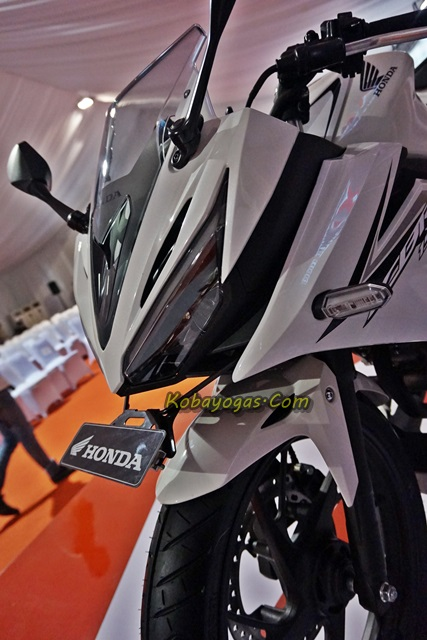 All New CBR150R 2016 white