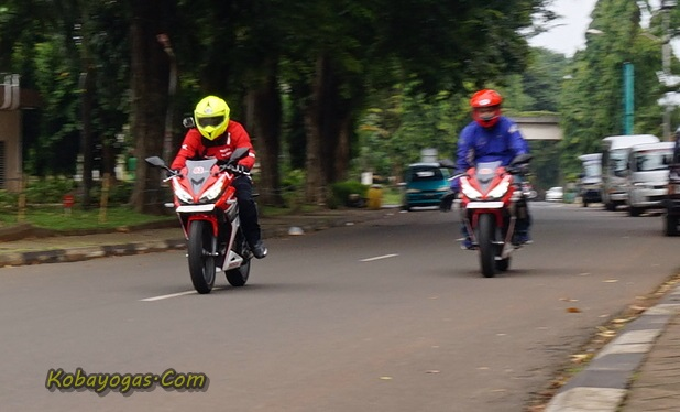 test ride all new cbr150