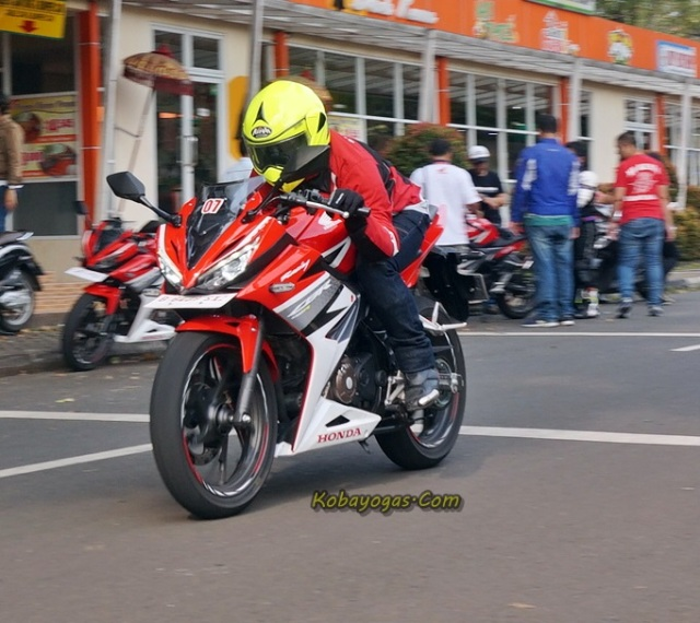 test ride all new CBR150R 2016