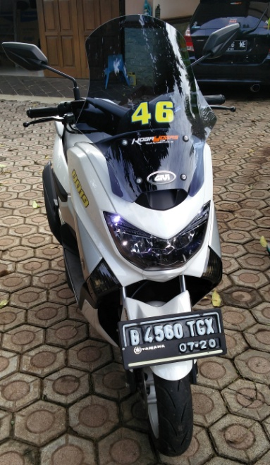windshield yamaha Nmax baru 4